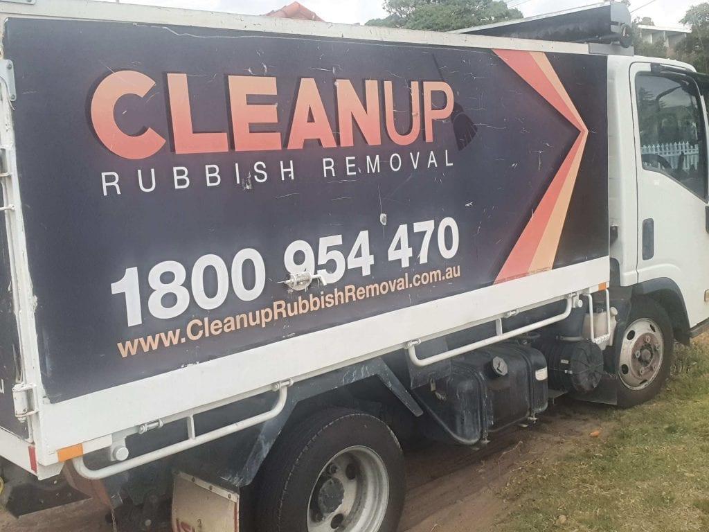 rubbish removal truck